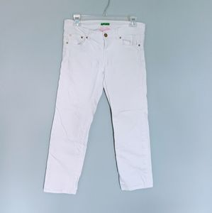 Lilly Pulitzer Palm Beach Fit White Jeans